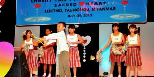 Child performance on stage