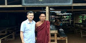 Mr. Peter and The Head Monk from YGW