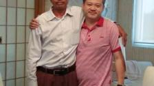 Mr. Peter and Fr. Patrick Ba Thaung from Jesus Savior & Lord Church, Mon